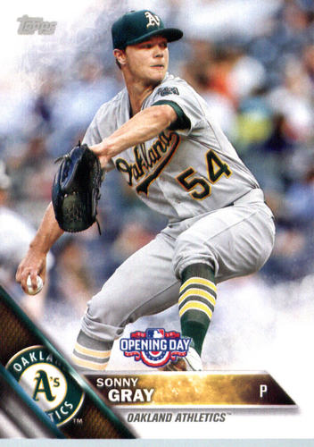 Photo of 2016 Topps Opening Day #OD66 Sonny Gray