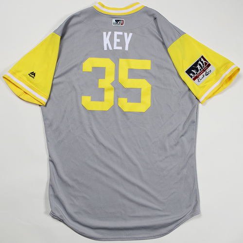 "Photo of Keone ""Key"" Kela Pittsburgh Pirates Game-Used Jersey 2018 Players' Weekend Jersey"