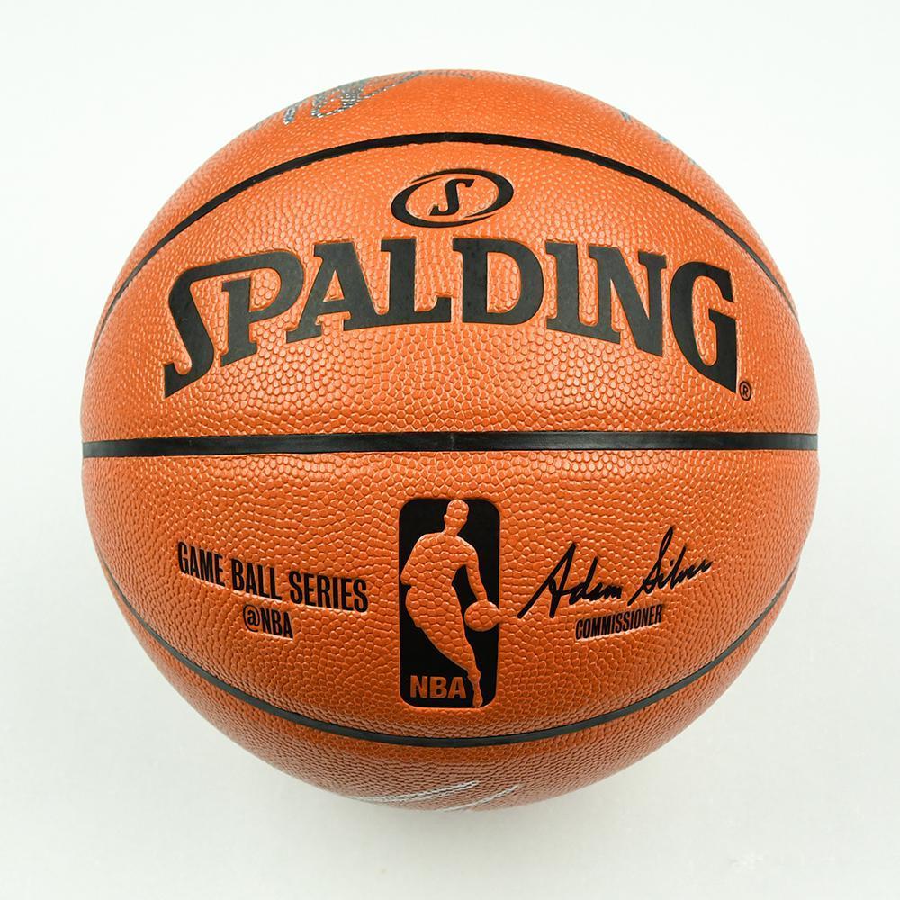 Deandre Ayton, Marvin Bagley III, Luka Doncic and Jaren Jackson Jr. - Top 4 Overall Draft Picks - 2018 NBA Draft Class - Autographed Basketball