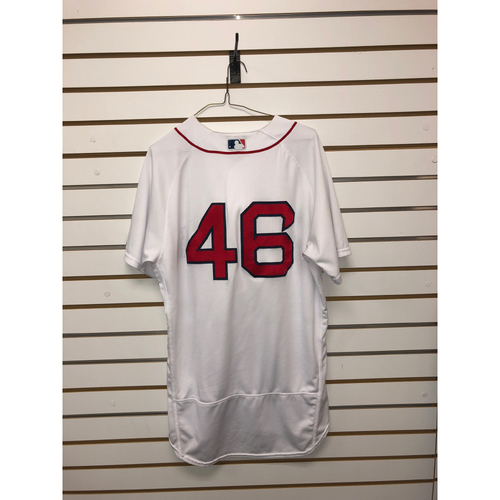 Photo of Craig Kimbrel Game-Used July 11, 2018 Home Jersey