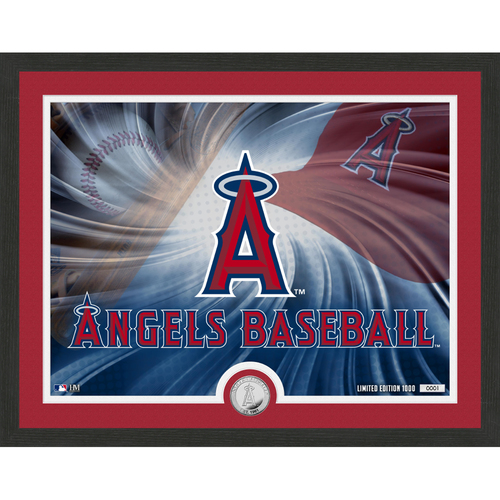 "Photo of Los Angeles Angels Pride 16""x 20"" Silver Coin Photo Mint"