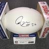 Patriots - Logan Ryan signed panel ball w/ Patriots logo
