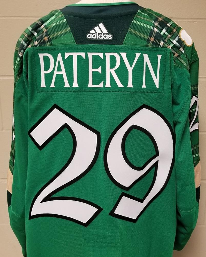 Greg Pateryn Minnesota Wild 2019 St. Patty's Day Warm-Up Jersey