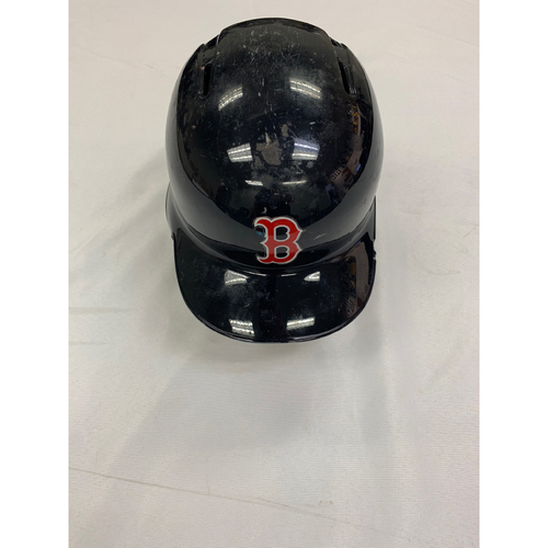Photo of Mitch Moreland October 23, 2018 World Series Game 1 Game Used Batting Helmet