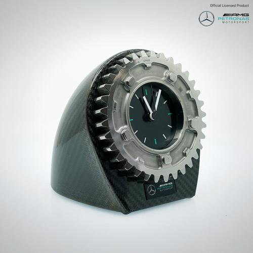 Photo of Lewis Hamilton & Valtteri Bottas Signed Gear Ratio Clock - Mercedes-AMG Petro...