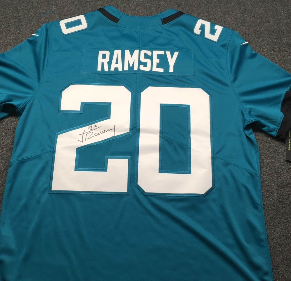 Jaguars - Jalen Ramsey Signed Nike Limited Jersey Size XL