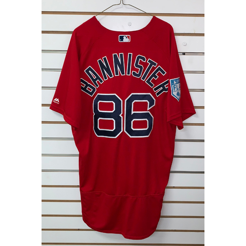 Photo of Brian Bannister Team Issued 2019 Spring Training Jersey