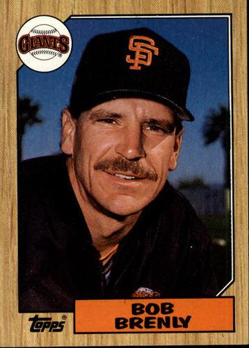 Photo of 1987 Topps #125 Bob Brenly
