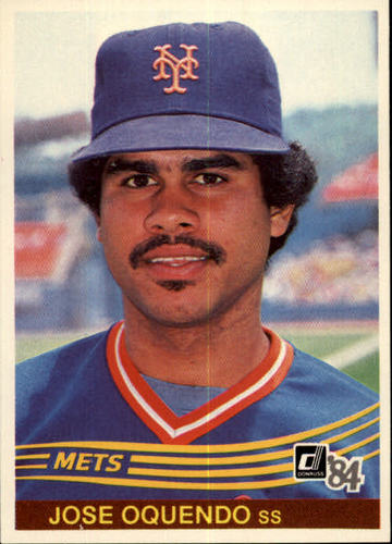 Photo of 1984 Donruss #643 Jose Oquendo RC