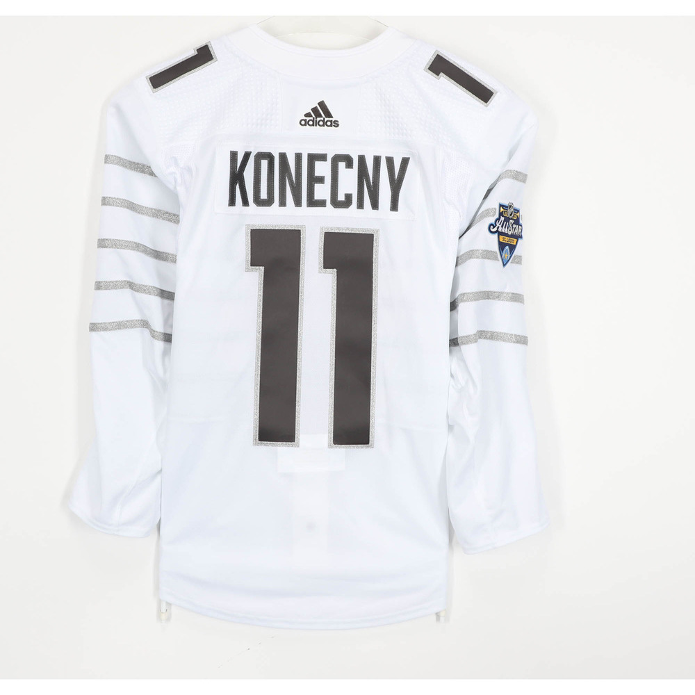 Travis Konecny Philadelphia Flyers Player-Issued 2020 All-Star Game Jersey