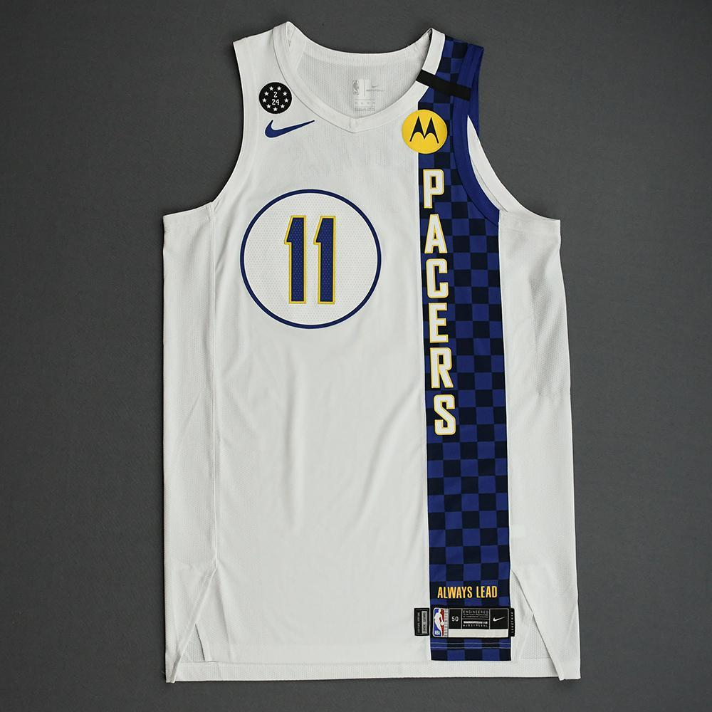 Domantas Sabonis - Indiana Pacers - 2020 Taco Bell Skills Challenge - Event-Worn City Edition Jersey