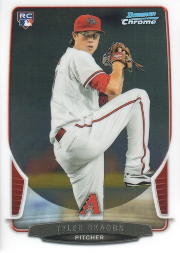Photo of 2013 Bowman Chrome #188 Tyler Skaggs RC