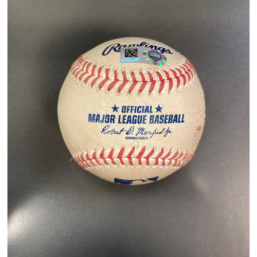 Photo of Game-Used Baseball from September 17, 2020: White Sox Clinch 2020 Playoff Spot
