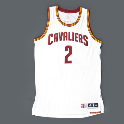 hot sale online 2751f 3ab1f Kyrie Irving - Cleveland Cavaliers - Game-Worn Jersey - 2015 ...