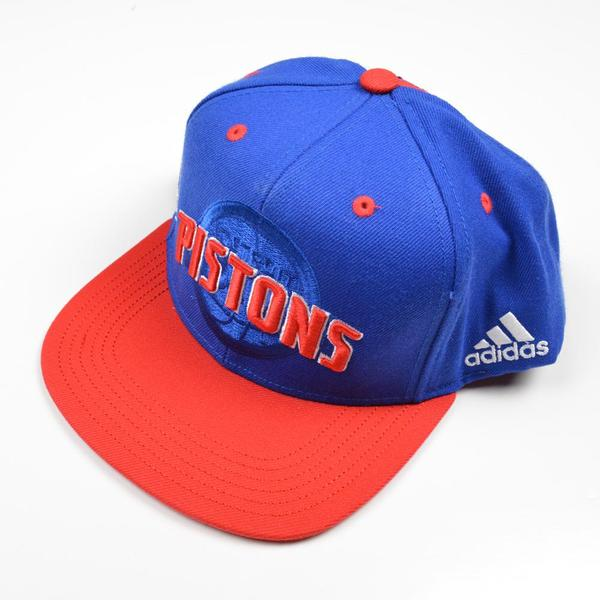 Michael Gbinije - Blue 2016 NBA Draft-Worn Detroit Pistons Hat (Not. 7c978359f