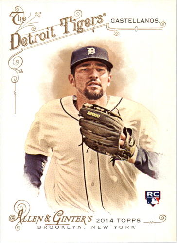 Photo of 2014 Topps Allen and Ginter #167 Nick Castellanos RC