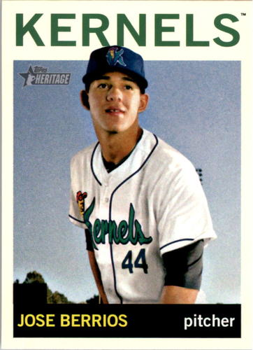 Photo of 2013 Topps Heritage Minors #102 Jose Berrios