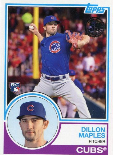 Photo of 2018 Topps '83 Rookies #8322 Dillon Maples