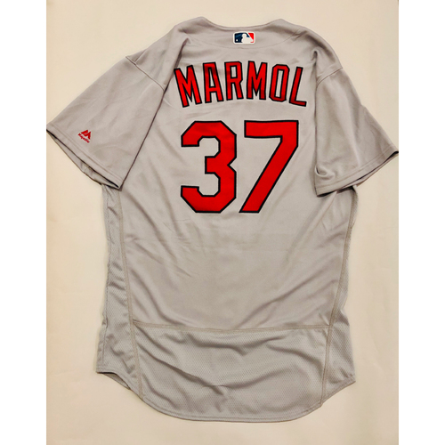 Photo of 2019 Mexico Series Game Used Jersey - Oliver Marmol Size 44 (St. Louis Cardinals)