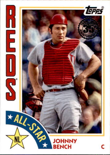 Photo of 2019 Topps '84 Topps All Stars #84ASJBE Johnny Bench