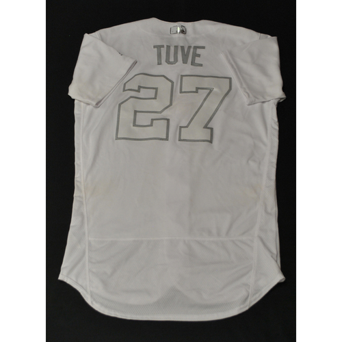 "Photo of Jose ""TUVE"" Altuve Houston Astros Game-Used 2019 Players' Weekend Jersey"