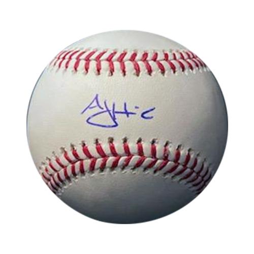 AJ Hinch Autographed Baseball