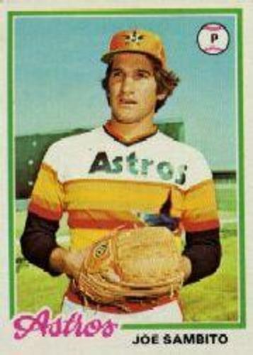 Photo of 1978 Topps #498 Joe Sambito