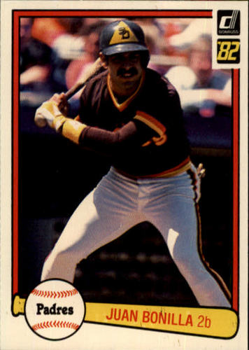 Photo of 1982 Donruss #220 Juan Bonilla RC