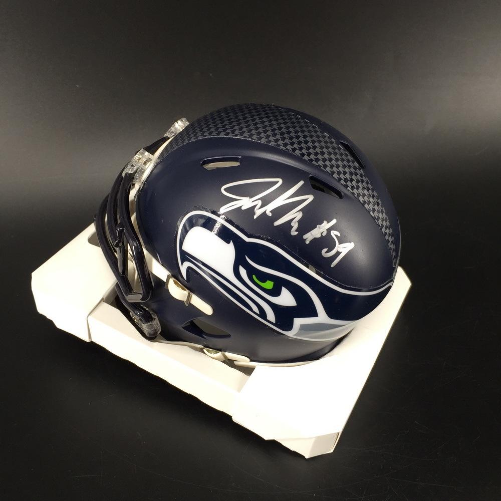 PCF - Seahawks Jacob Martin Signed Mini Helmet