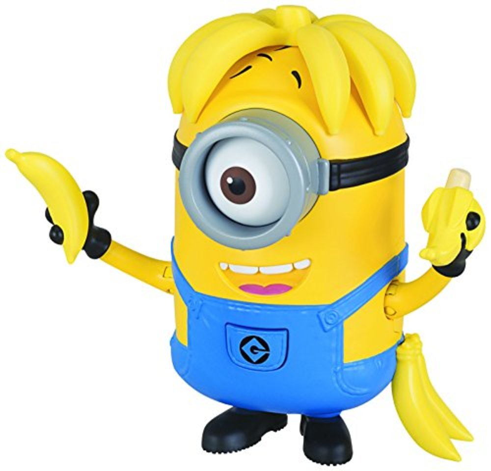 Photo of Despicable Me Deluxe Action Figure Banana Crazy Carl Toy Figure