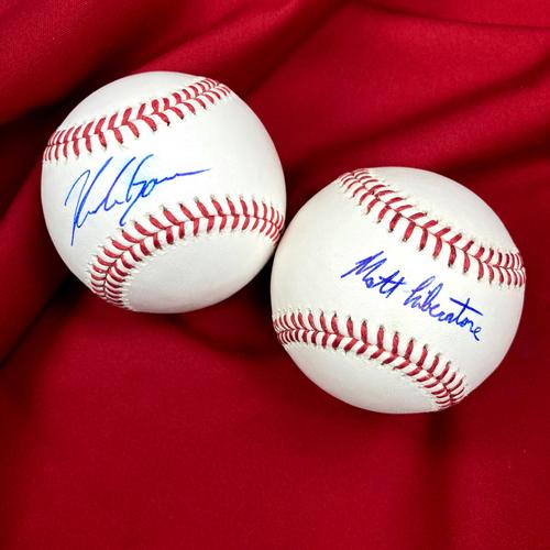 Nolan Gorman and Matthew Liberatore Autographed Baseballs