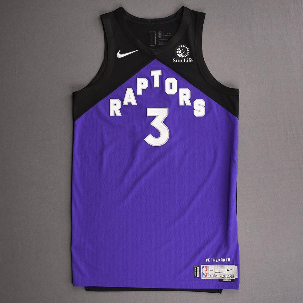 OG Anunoby - Toronto Raptors - Game-Worn Earned Edition Jersey - Scored 25 Points - 2020-21 NBA Season