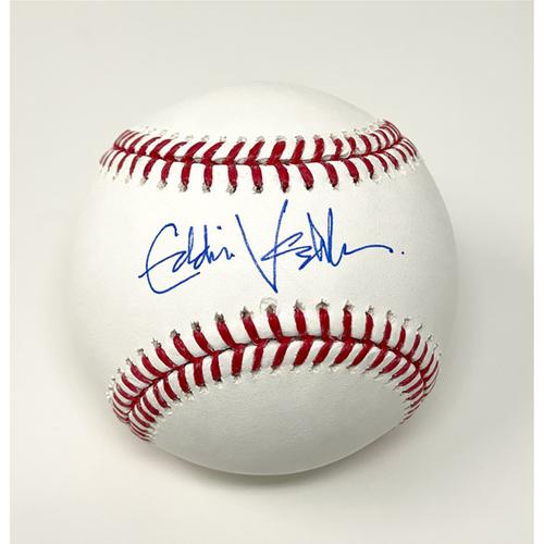 Photo of Eddie Vedder Autographed Baseball