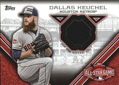 Photo of 2015 Topps Update All Star Stitches #STITDK Dallas Keuchel