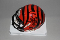 HOF - BENGALS ANTHONY MUNOZ SIGNED BENGALS MINI HELMET