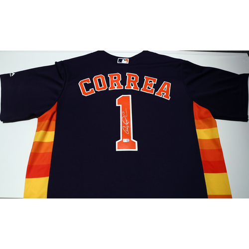 Compton Youth Academy Auction: Carlos Correa Signed Jersey