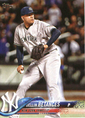 Photo of 2018 Topps #80 Dellin Betances