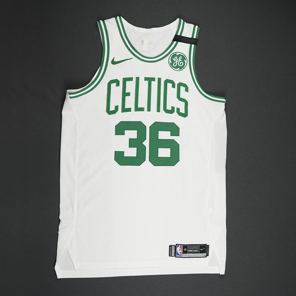 Marcus Smart - Boston Celtics - 2018 NBA Playoffs Game-Issued Jersey