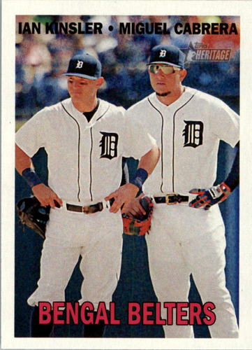 Photo of 2016 Topps Heritage #216 Ian Kinsler/Miguel Cabrera