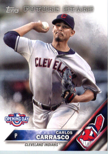 Photo of 2016 Topps Opening Day #OD85 Carlos Carrasco