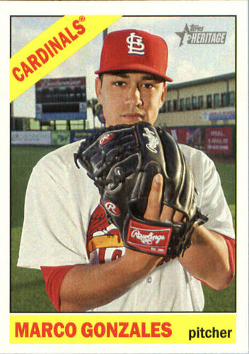 Photo of 2015 Topps Heritage #692 Marco Gonzales RC