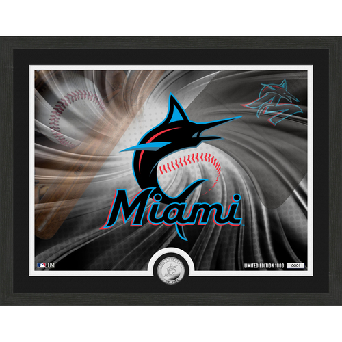 "Photo of Miami Marlins Pride 16""x 20"" Silver Coin Photo Mint"
