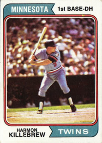 Photo of 1974 Topps #400 Harmon Killebrew