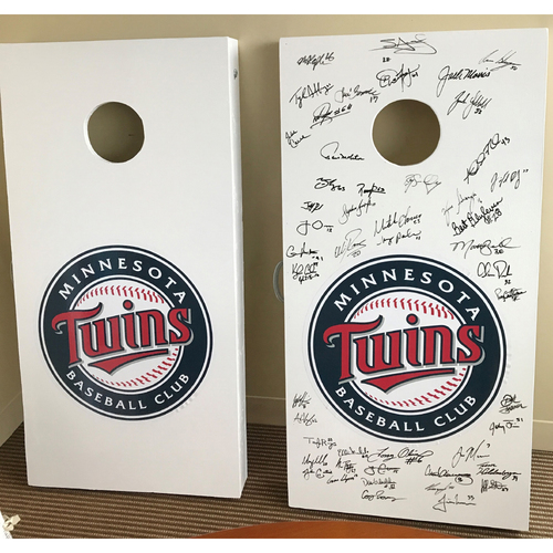 Photo of Minnesota Twins Crescent Cove Auction: Autographed Corn Hole Toss