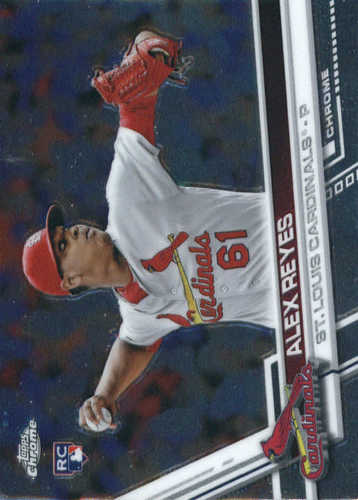 Photo of 2017 Topps Chrome #66 Alex Reyes Rookie Card