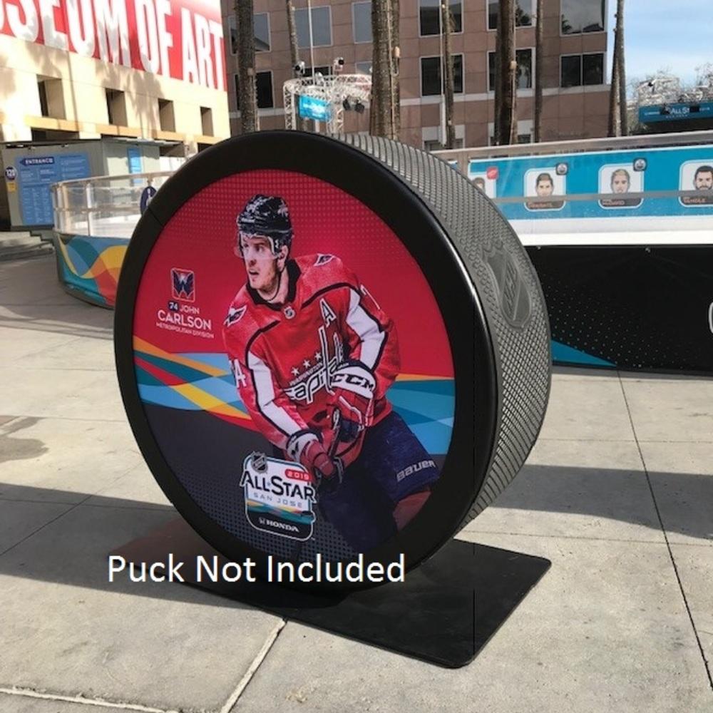 2019 NHL All Star Game Banner Featuring John Carlson (Washington Captials)