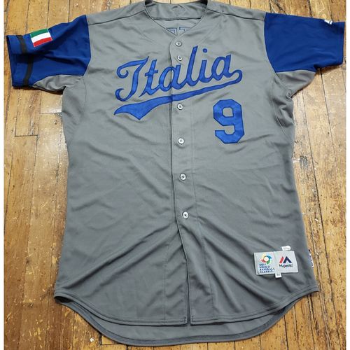 Photo of 2017 World Baseball Classic Game Used Jersey - Andrew Butera  - Size 46 (Italy)