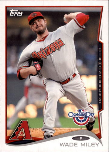 Photo of 2014 Topps Opening Day #44 Wade Miley