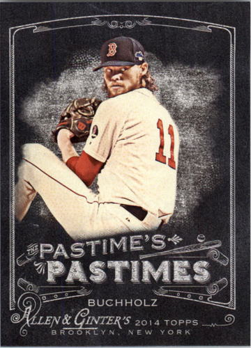 Photo of 2014 Topps Allen and Ginter The Pastime's Pastime #PPCB Clay Buchholz