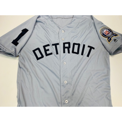 Team-Issued 1968 50th Anniversary Ceremony Jersey: Jose Iglesias